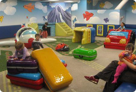 Kids Play Area in Seattle International Airport (SEATAC)