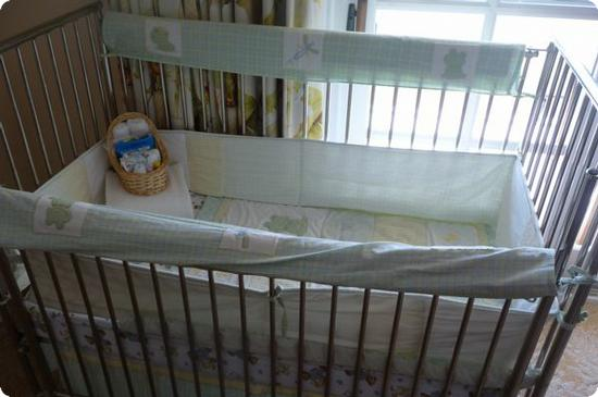 Crib at the Four Seasons Aviara in Carlsbad