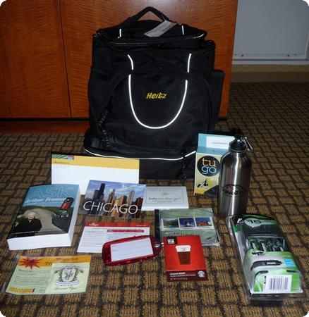 Travel Blog Exchange '09 Gift Bags