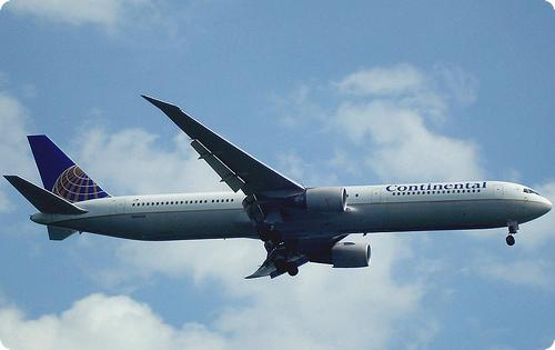 Continental Airlines 767