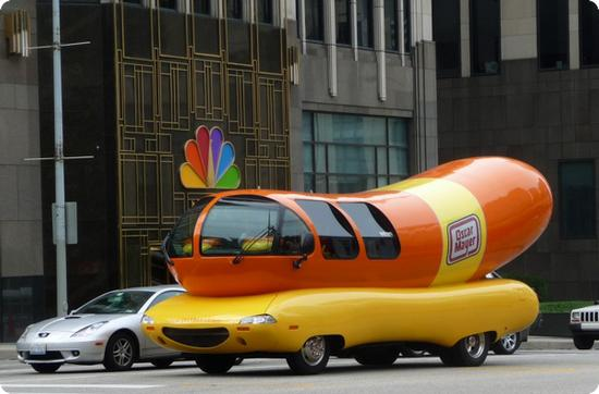 Oscar Mayer Wienermobile in Chicago