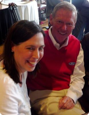 Debbie Dubrow and Alan Mulally
