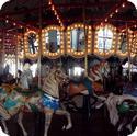 Carousel on the Santa Monica Pier
