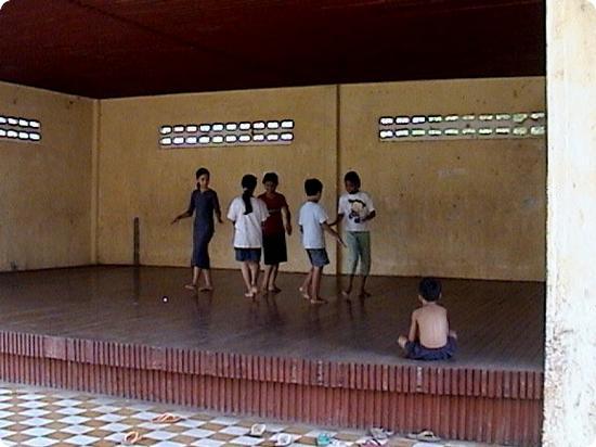 Khmer dance school in Phnom Penh Cambodia