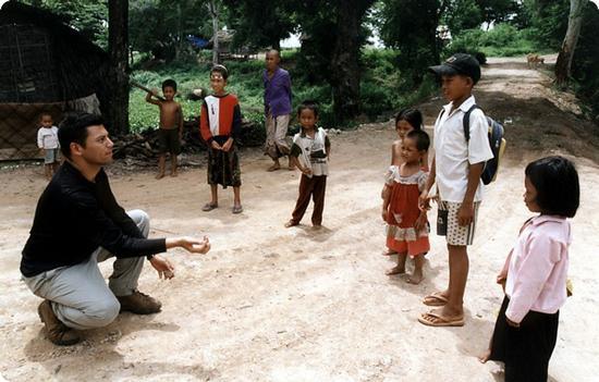 Juggling for kids in Phnom Penh Cambodia
