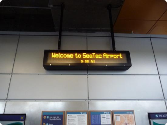 Welcome to SeaTac Airport
