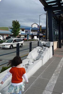 Station art at Othello Link Light Rail Station