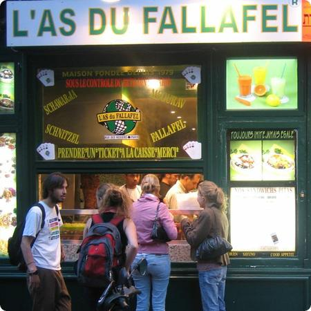 L'as de Fallafel in Paris