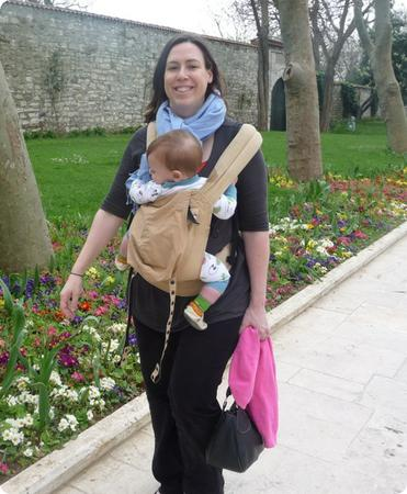 Poor Eilan shivers his way through Topkapi Palace