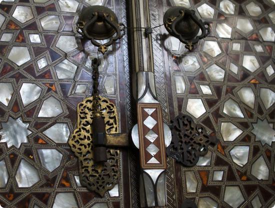 Window Lock in Istanbul's Topkapi Palace Harem