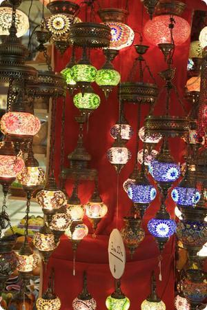 Lighting in Istanbul's Grand Bazaar
