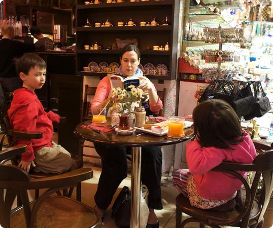 Tea in Istanbul's Grand Bazaar