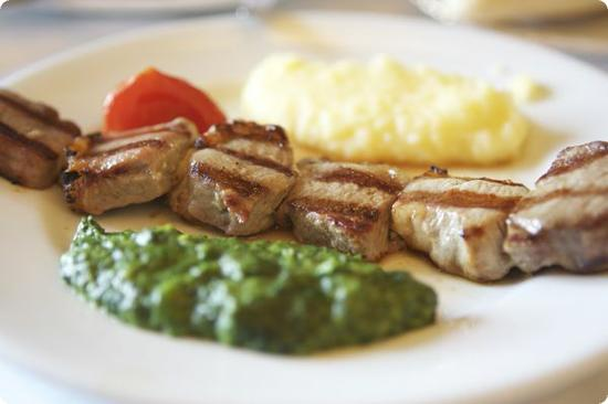 Lamb Kabob at Pandeli Restaurant