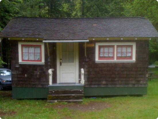 Our Cabin at OPI - It has been well used, but it's heated and has a bathroom