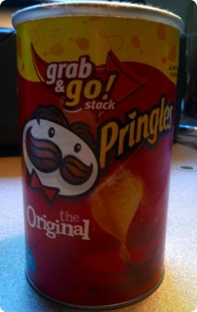 Travel Sized Pringles Can