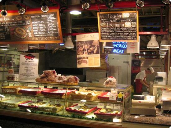 Siegel's Bagels in the Granville Island Public Market, Vancouver