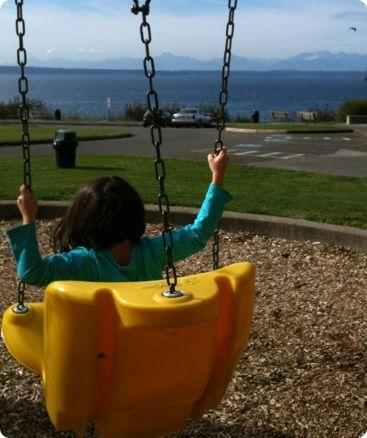 Carkeek Park playground in Seattle, WA