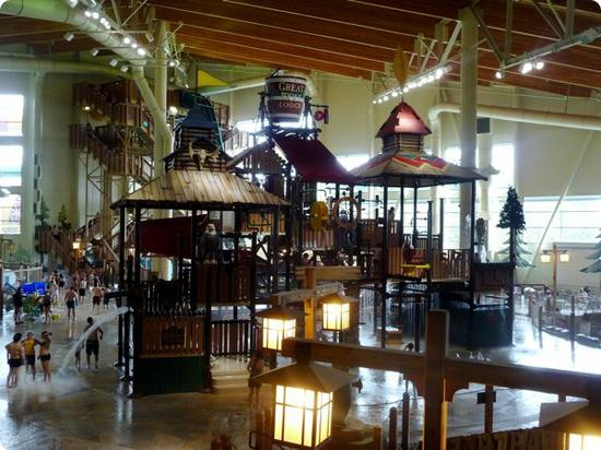 Great Wolf Lodge in Grand Mound, WA