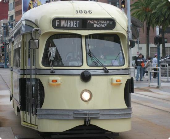 San Francisco's Fisherman's Wharf Streetcar is fun and safe for kids