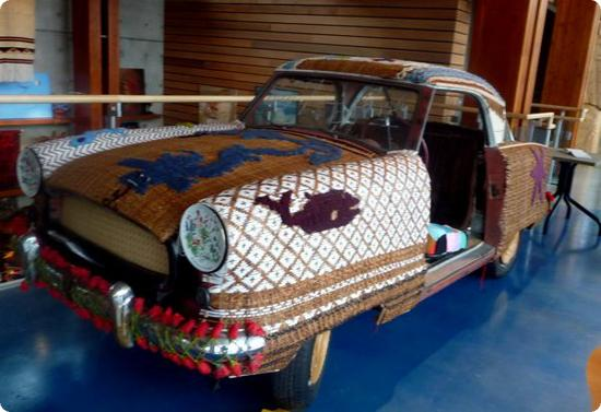 Art Car at the Squamish Lil'wat Cultural Center in Whistler, Canada