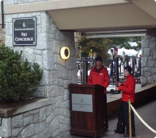 Four Seasons Ski Concierge at Whistler
