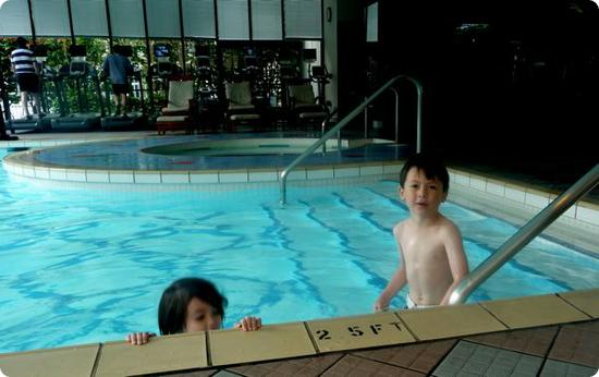 Indoor/Outdoor Pool at the Four Seasons Vancouver
