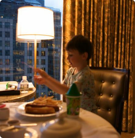 Dining in - Kids Room Service at the Four Seasons Vancouver