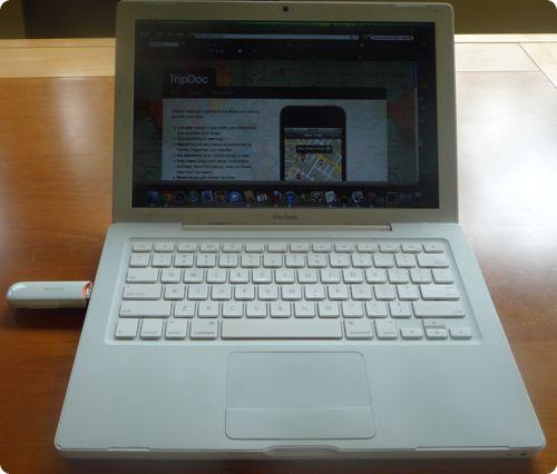 Using MiFi USB Modem with my Laptop