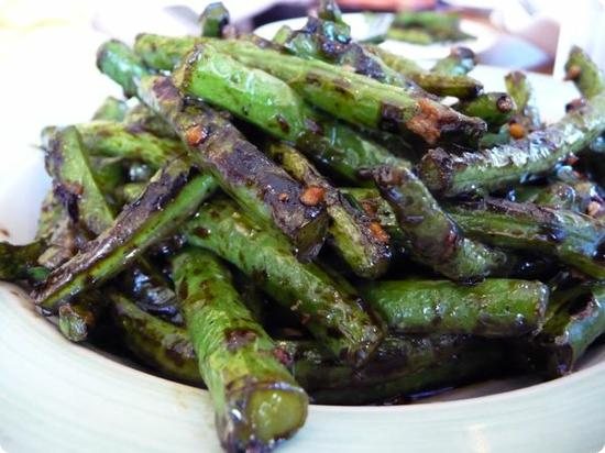 Braised Greenbeans at Little Village Noodle House in Honolulu's Chinatown
