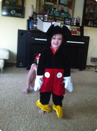 The littlest Mickey Mouse