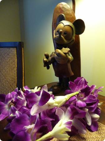 One of the few obvious nods to Mickey in our room (don't worry, there are plenty of hidden Mickeys)