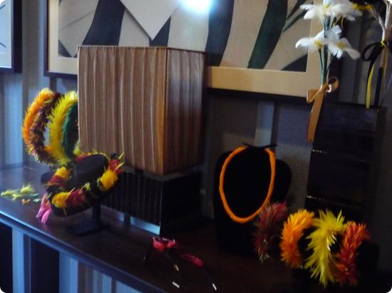 Display for a craft class at Aulani Resort on Oahu