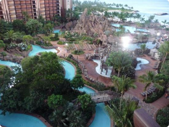 View from my room at the Aulani Resort