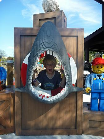 Sharks and Lego, a match made in heaven