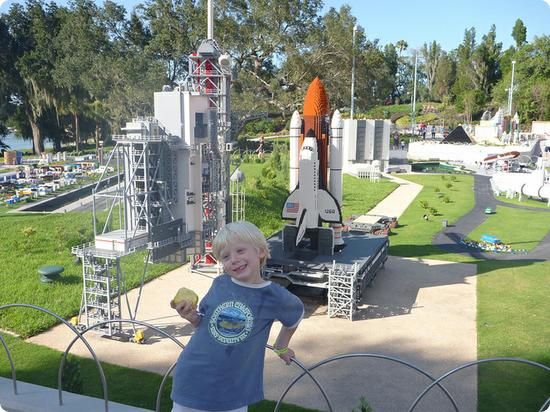 Cape Canaveral Miniland Exhibit at LEGOLAND Florida