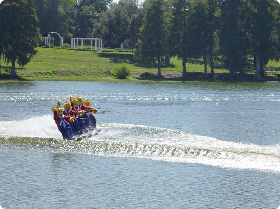 Water ski show at LEGOLAND Florida