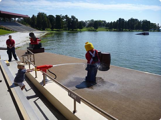 Watercannons at LEGOLAND Florida
