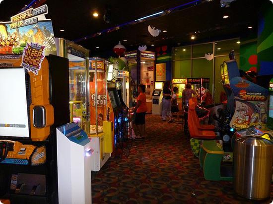 Arcade at the Nickelodean Suites Resort