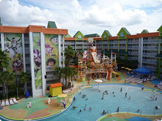 Nickelodeon Suites Resort in Orlando Florida
