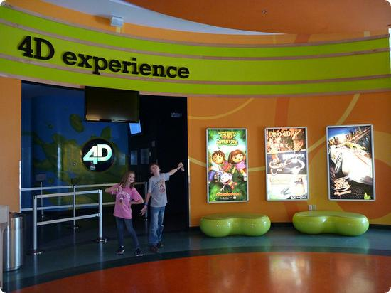 4D Experience at Nickelodean Suites Resort in Orlando Florida