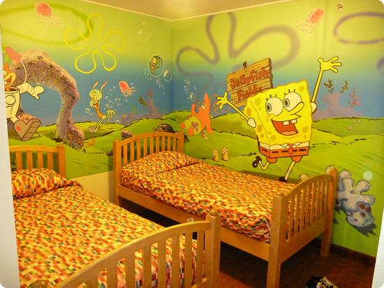 Two bedroom suite at the Nickelodeon Suites Resort in Orlando Florida