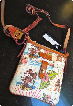 Dooney & Bourke Minnie Mouse Crossbody Bag from Aulani Resort in Hawaii