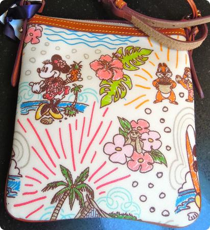 Back of Dooney and Bourke Purse from Aulani Resort