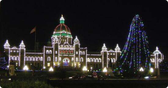 Photo Friday Holiday Lights In Victoria Bc