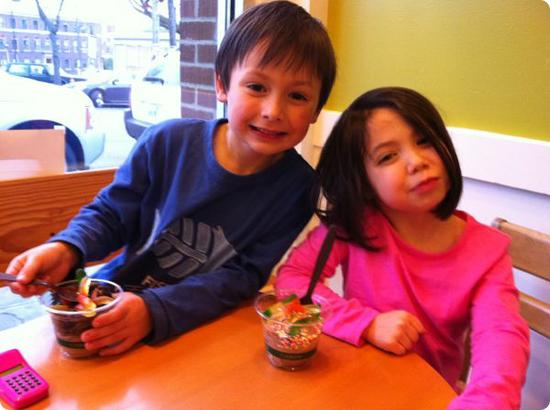Old School Frozen Custard is my kids favorite ice cream shop in Seattle