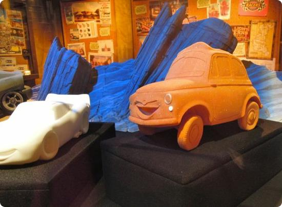 Models for Cars Land
