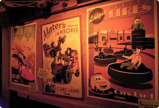 Let's hope these vintage-looking ride posters are available for purchase