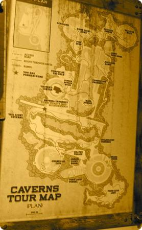 Radiator Springs Racers Track Map - Love all the Winding Roads!