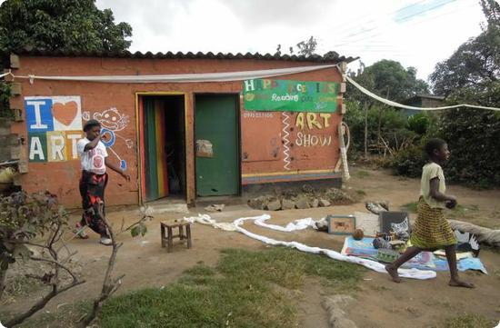 Happy Face Kids Art School in Lusaka's Garden District