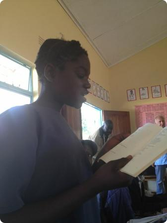 Reading out loud in Chitonga